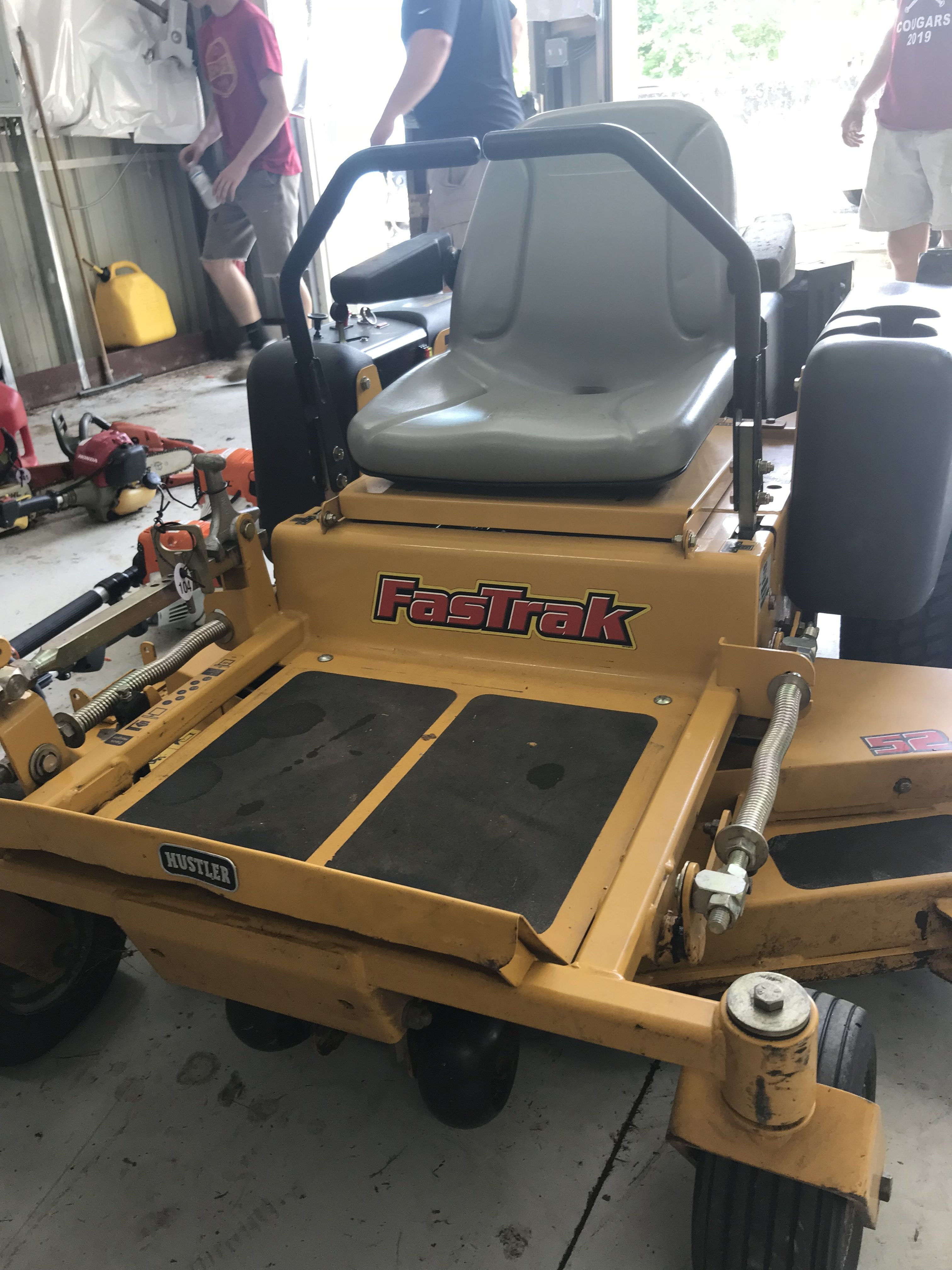 Used Hustler Fastrak Mower